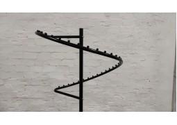 """Стойка для одежды """"Спираль"""" (черная)"""