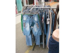 Стойка ''Краб'' хромированная для женской и мужской одежды