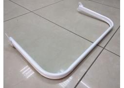 Дуга в рейку, длина 1.2м (белая)