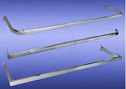 Дуги и перемычки в рейку (тонкостенные с овальной трубы 15х30мм)