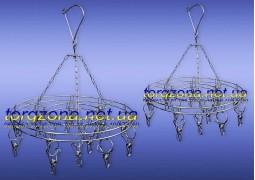Вертушка подвесная (круглая) на 20 прищепок