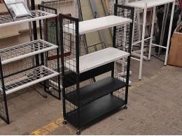 Модульный стеллаж-этажерка, наборной (сборка 1)