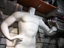 Манекен торс мужской с руками