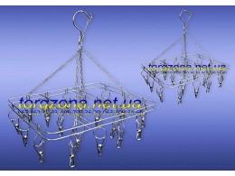 Вертушка подвесная (квадратная) на 20 прищепок